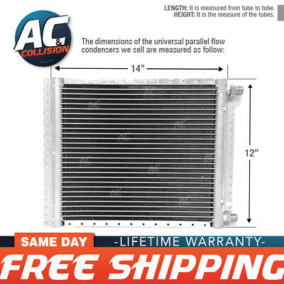 CNFP1214 AC A/C  Universal Condenser Parallel Flow 12 x 14 O-ring #6 & #8