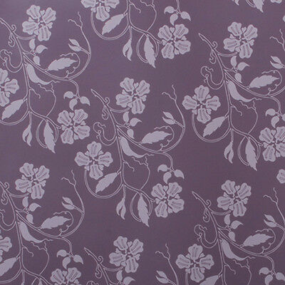 Purple Vines Wrapping paper, Counter roll, gift wrap,500mm x 50m