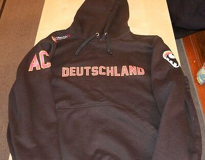 Deutschland Germany Lacrosse WILC World Championship 2015 Sweatshirt Lax Large