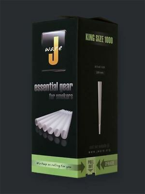 JWare Pre-Rolled KING Size Cones (1000 Count) Rolling Paper Size 109mm Large