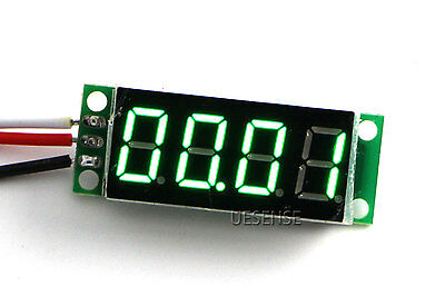 "DC 0-50V Green 0.36"" LED 4 Digit Digital Voltmeter Voltage Panel Meter"