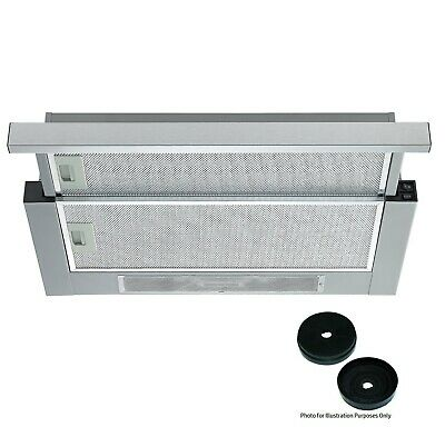 Cookology Integrated 60cm Telescopic Cooker hood TEL600SS & Carbon Filters