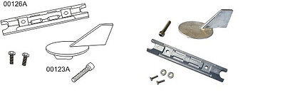 Yamaha Aluminum Anode Complete Kit 2Pc W/fasteners 60-90Hp Usa Mfg
