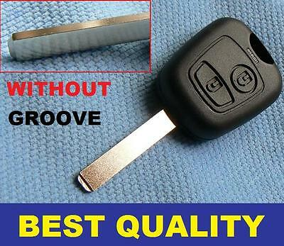 For Toyota Aygo 2 Button Remote Key Fob Case Shell