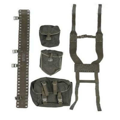 German army issue webbing set Olive in colour