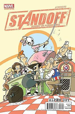 Avengers Standoff Assault On Pleasant Hill Alpha #1 (2016) Party Variant Cover