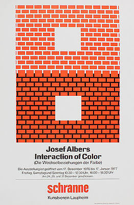 Josef Albers - Interaction of Colour. Ausstellung 1976