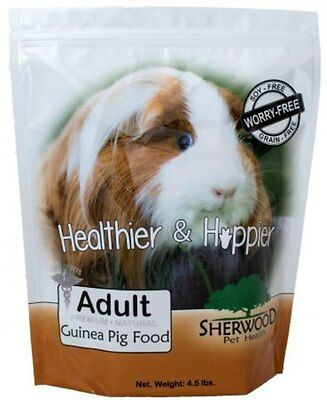Guinea Pig Food-Sherwood Adult withTimothy (No Grain/Soy) - 4.5 lb. -Vet used