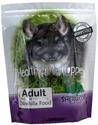 Chinchilla Food-Sherwood Adult - Timothy blend (No Grain/Soy) - 4.5 lb.-Vet used