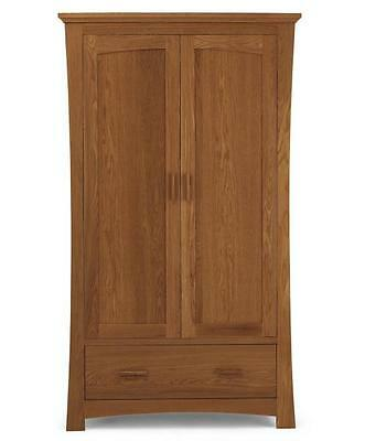 PERFECT CONDITION - Mamas and Papas Ocean Solid Oak Children's Wardrobe / Armoir
