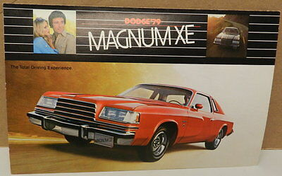 Dodge Boys Magnum Xe 1979 79 Postcard Mopar Dealership Promo Dealer