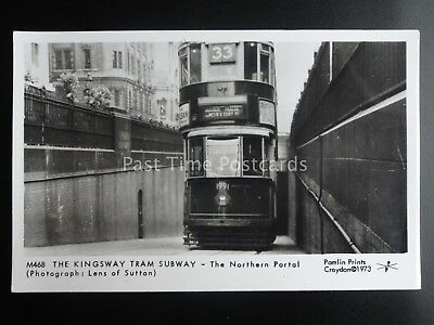 London Tram KINGSWAY TRAM SUBWAY - NORTHERN PORTAL Pamlin Print Postcard M468