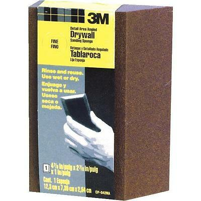 6 ea 3M CP042 FINE ANGLED RE-USABLE DRYWALL SANDING SPONGES