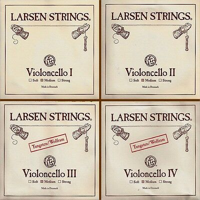 LARSEN 4/4 Violoncello Saiten SATZ Cello Strings SET