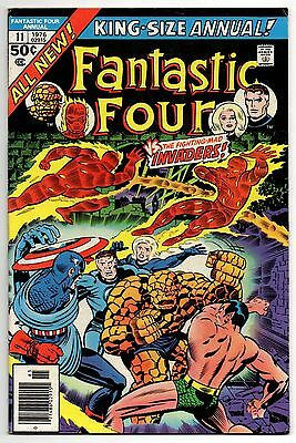 Fantastic Four Vol 1 Annual No 11 1976 (VFN-) Featuring The Invaders
