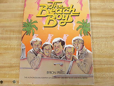 Beach Boys - Authorized Biography - Byron Preiss Book Softcover