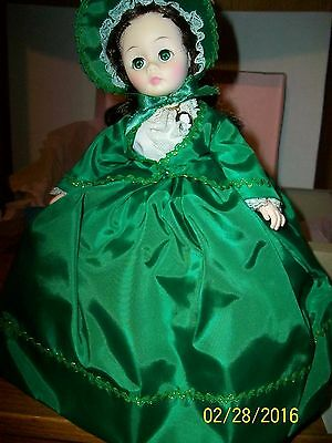 Vintage Madame  Alexander  # 1385 Scarlett 12 inch Doll in box with tag