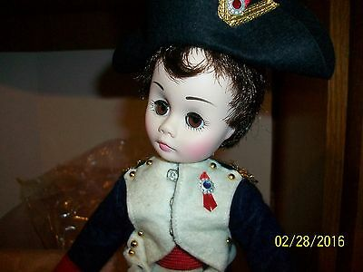 Vintage Madame  Alexander  # 1330 Napoleon 12 inch Doll in box with tag