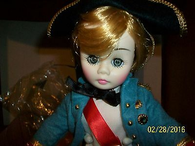 Vintage Madame  Alexander  # 1336 Lord Nelson 12 inch Doll in box with tag