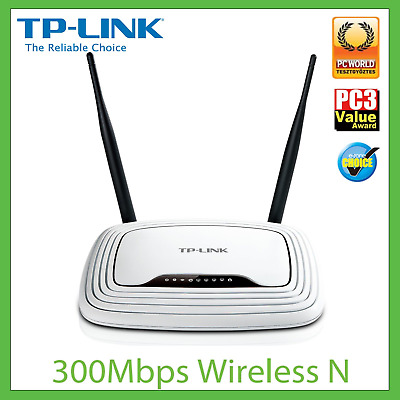 TP-Link TL-WR841N 300Mbps Wireless N WiFi Router 100Mbps LAN Bandwidth Control