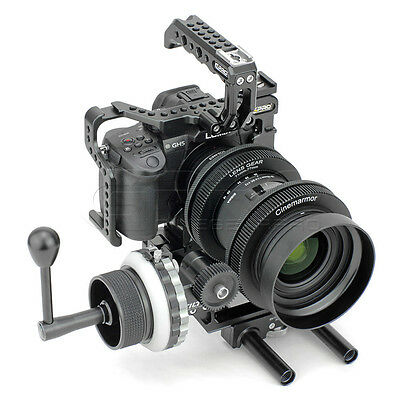 CGPro Armour Cage For PANASONIC GH5 with TILTA FF-T03 Follow Focus UK Stock