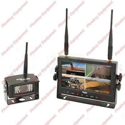 Digital Wireless Camera Kit for Peterbilt Kenworth Freightliner Volvo Mack Ford