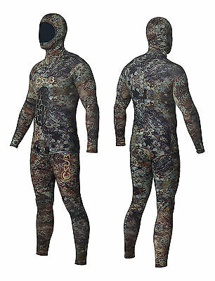 Csub 3Mm Manimal Freediving Spearfishing Wetsuit