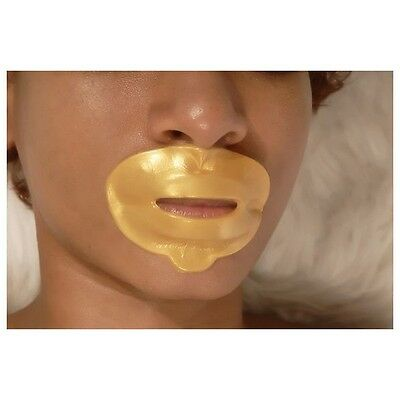 5x Collagen LIPS Crystal GOLD Masks Premium Eye Anti Ageing Wrinkle Skin Care UK