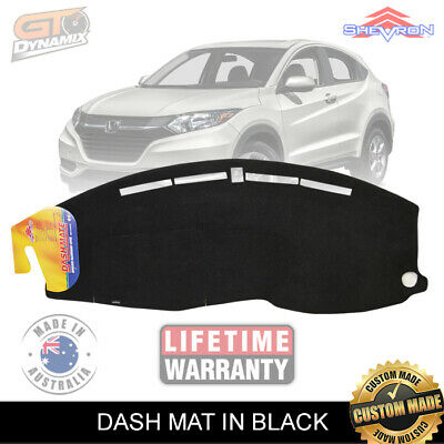 DASH MAT Honda HR-V GEN 2 AIR-BAG SAFE HRV DEC/2014 to 2017 in BLACK DM1386