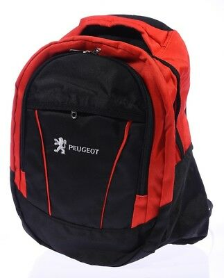 NEW PEUGEOT BLACK BACKPACK BAG flag 308 407 607 4007 807 3008 207