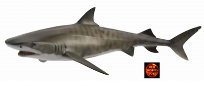 TIGER SHARK - Sealife Model by CollectA 88661 *New with Tag*