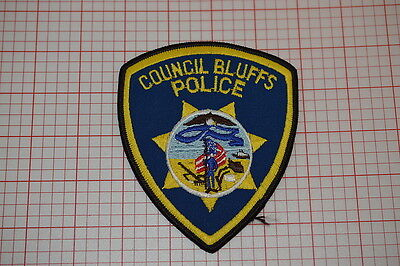 Council Bluffs Iowa Police Department Patch (T3)