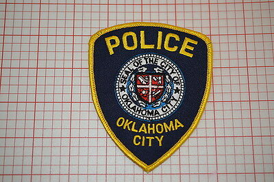 Oaklahoma City Police Department Patch (T3)