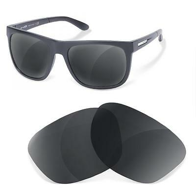 Lentes SURE de Recambio Polarizada para Arnette 4143 Fire Drill (Black Iridium)