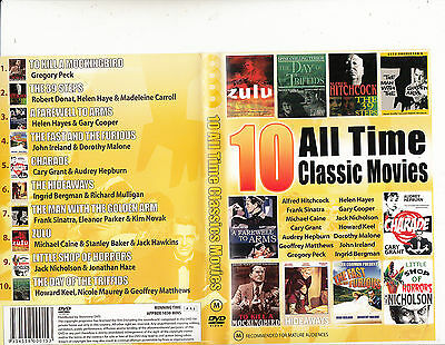 Zulu/Charade/The Hideaways/The 39 Steps-[4 Disc]-10 Movies Classic-DVD