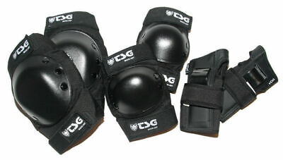 Tsg Basic Pads Elbow Knee Wrist 3 Pack Set Skateboard Free Post Aus Seller