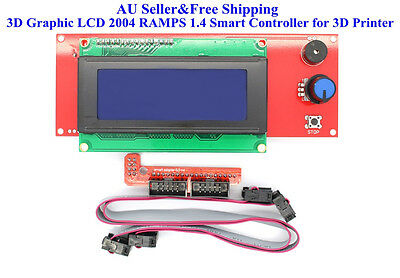 3D Graphic LCD 2004 RAMPS1.4 Smart Controller for RepRap 3D Printer PrusaMendel