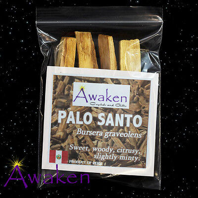 PALO SANTO aka The Sacred Tree aka The Holy Tree SMUDGE Sticks INCENSE