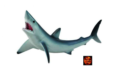 SHORTFIN MAKO SHARK - Sealife Model by CollectA 88679 *New with tag*