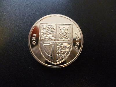 2010 Brilliant Uncirculated One Pound Coin, The Royal Shield Version 2010 £1
