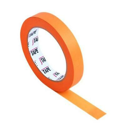 JTAPE Orange Water Proof 100c Paint Fine Line / Masking Tape 50m x 24mm 6 ROLLS