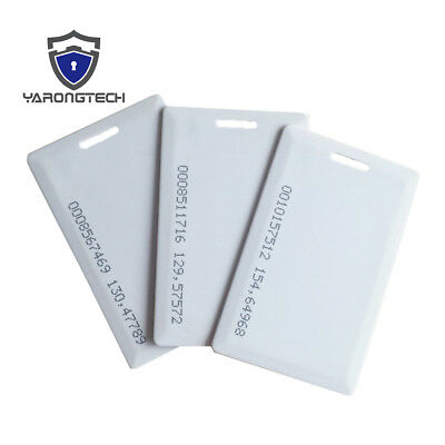 50pcs 125khz EM Marine clamshell plastic rfid card for door access control