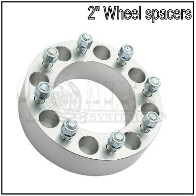 NNR BOLT ON 50MM WHEEL SPACER WITH STUD 8X170 14X1.5 PAIR