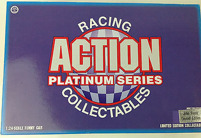 Action Platinum Series John Force 1:24 scale Funny Car Adult Collectable