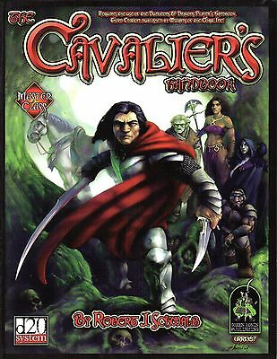 The Cavalier´s-Handbook-d20-RPG-Roleplaying Game-(SC)-new-very rare