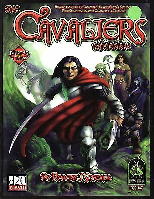 The Cavalier´s-Handbook-d20-RPG-Roleplaying Game-(SC)-very rare