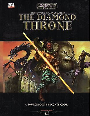 SWORD & SORCERY-MONTE COOK`S ARCANA UNEARTHED-THE DIAMOND THRONE-(SC)-rare