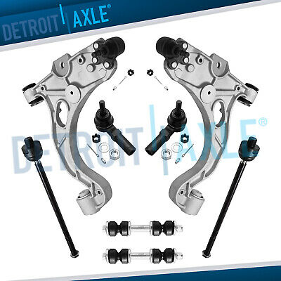 New 8pc Complete Front Lower Control Arm Set & Suspension Kit for Pontiac Olds