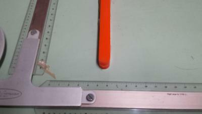 "5/8"" x 3/4"" X 48""  URETHANE / POLYURETHANE 80 A ORANGE BAR P/N 11390"