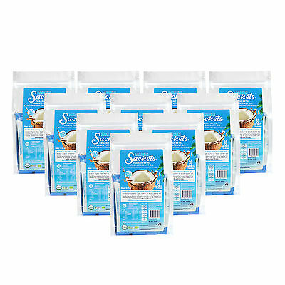 BANABAN Sachets Organic Extra Virgin Coconut Oil - 10 PACK DEAL - FREE SHIPPING